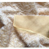 Mohair light yellow distressed